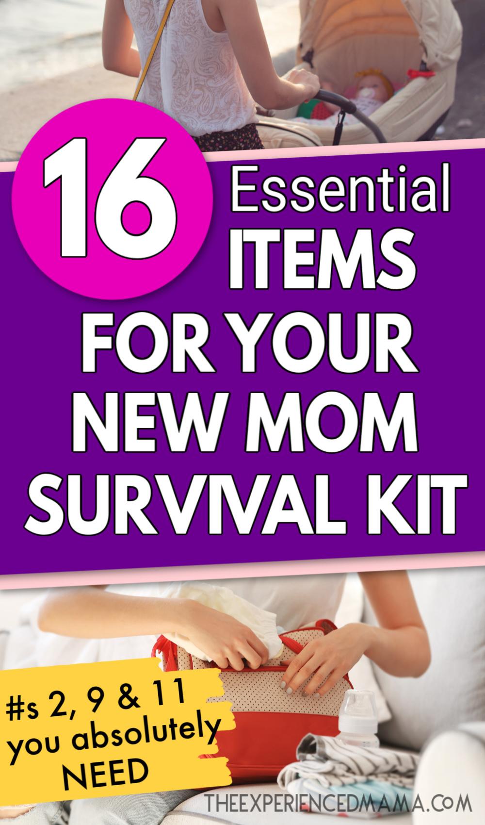 new mom packing diaper bag