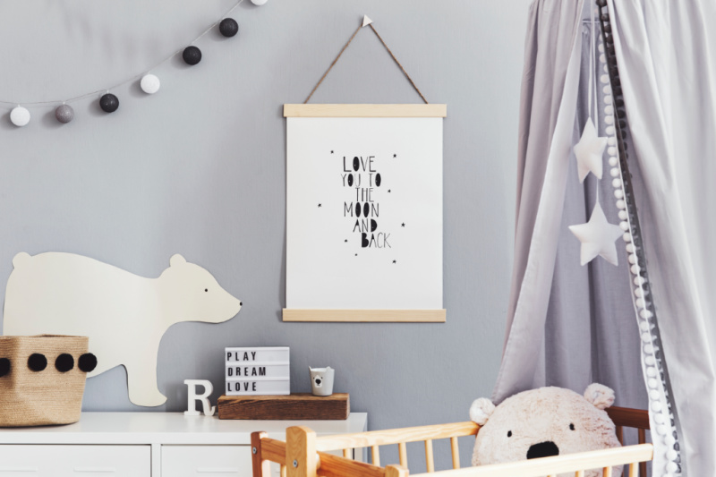 Minimalist Nursery Room